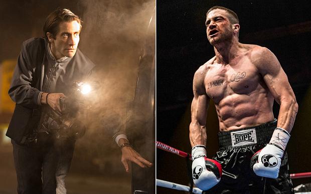 Nightcrawler and Southpaw Gyllenhaal