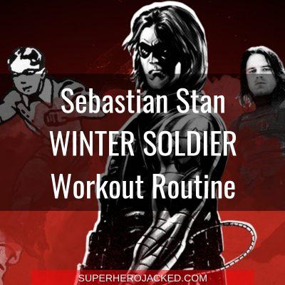 Sebastian Stan Winter Soldier Workout