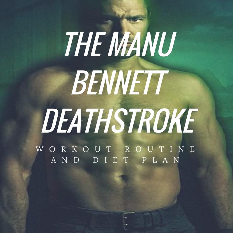 Manu Bennett Workout