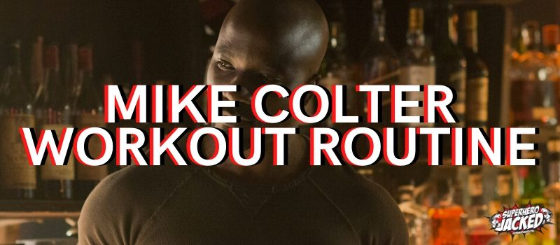 Mike Colter Workout
