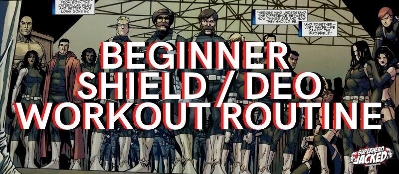 SHIELD _ DEO Beginner Workout