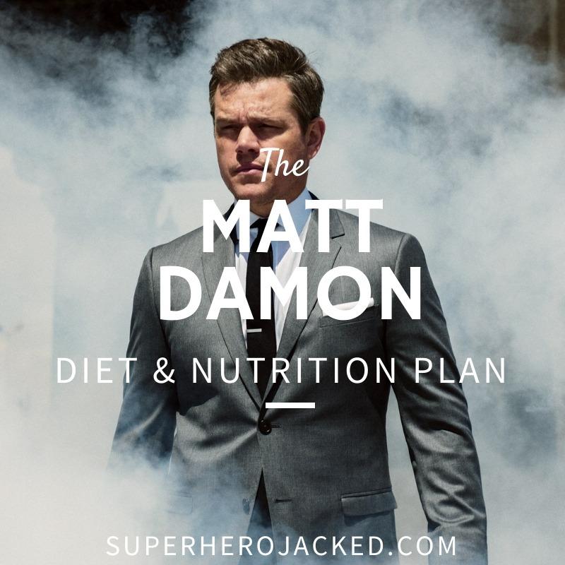 Matt Damon Diet and Nutrition