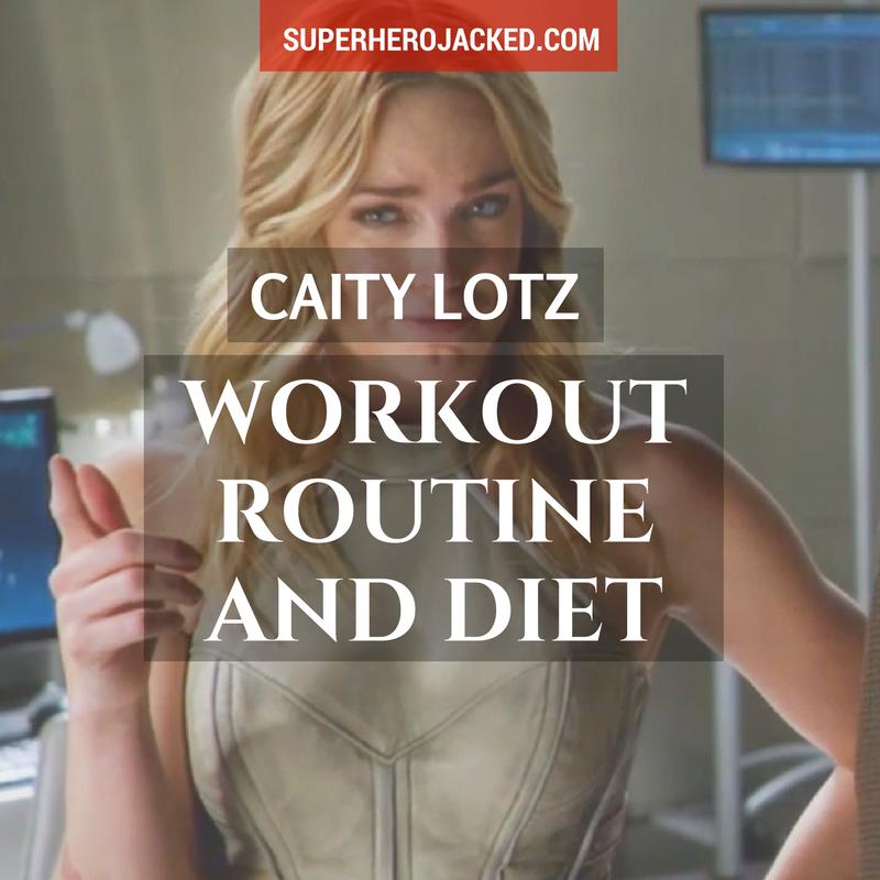 Caity Lotz Workout