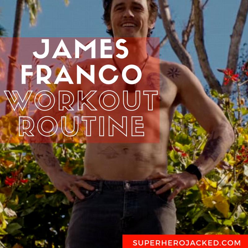James Franco Workout