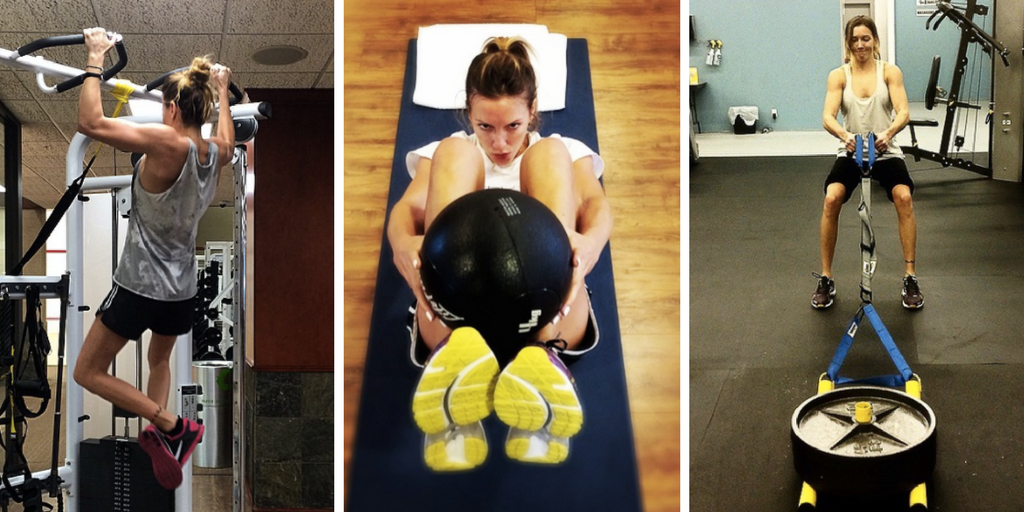 Katie Cassidy Workout 3