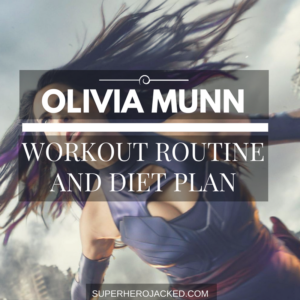 Olivia Munn Workout