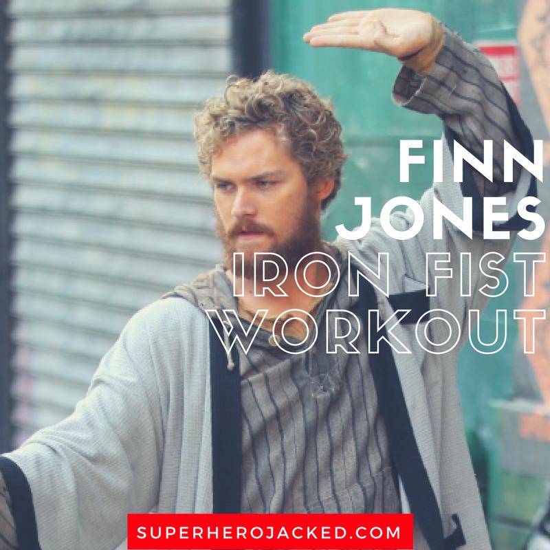 Finn Jones Workout