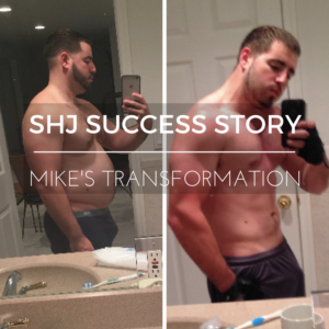 SHJ Success Story: Mike Loses 50 lbs. in 6 Months!