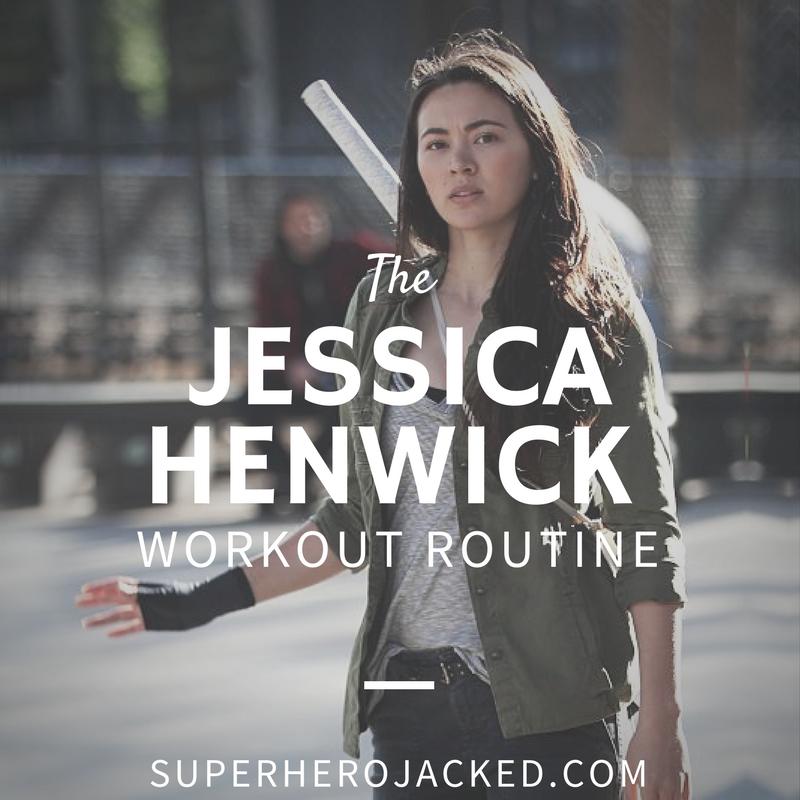 Jessica Henwick Workout
