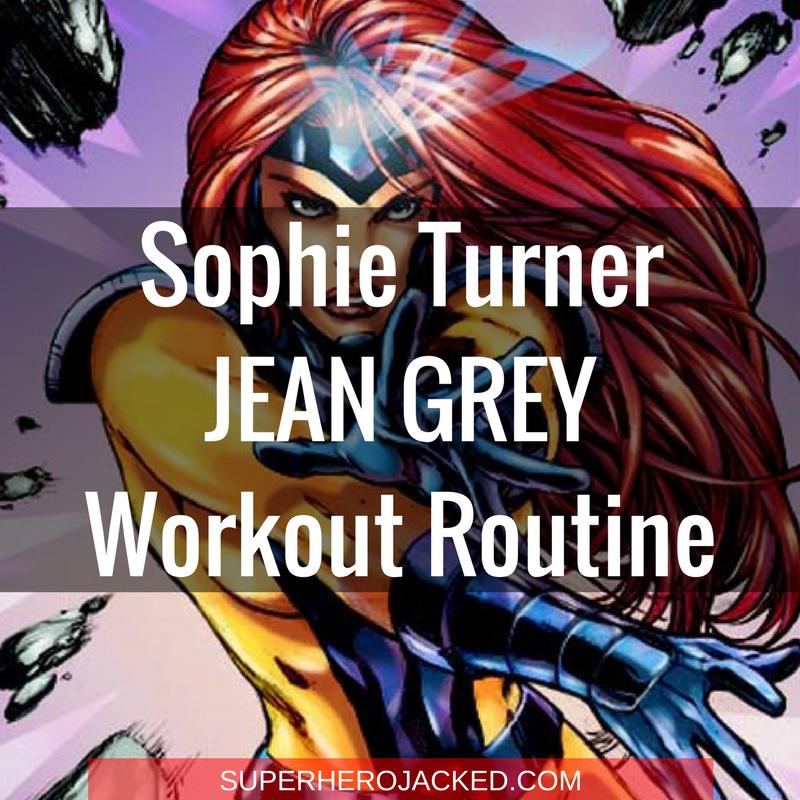 Sophie Turner Jean Grey Workout Routine