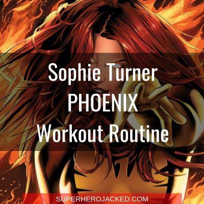 Sophie Turner Phoenix Workout