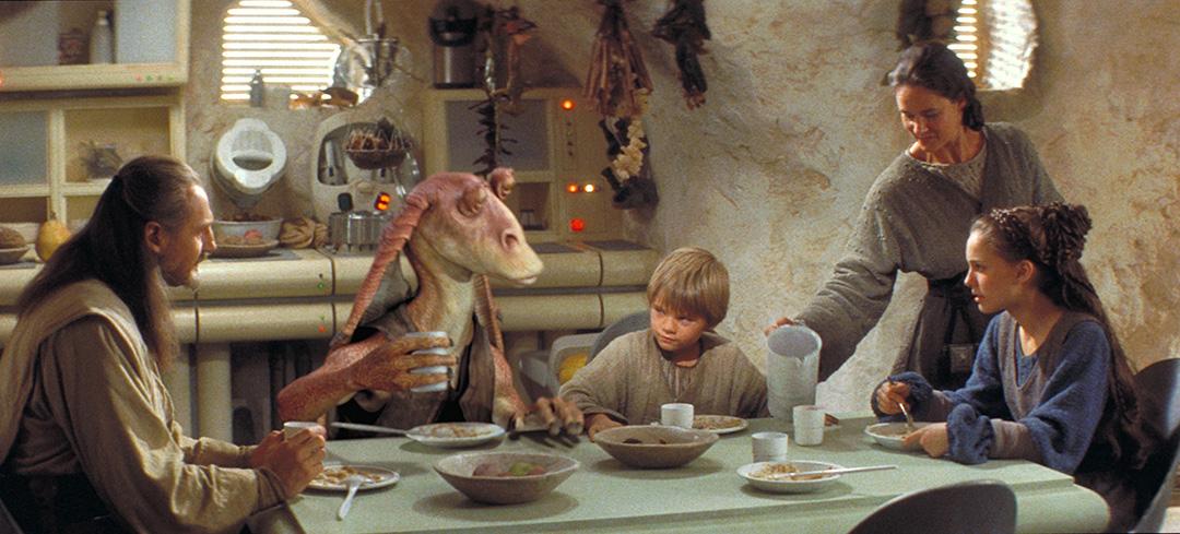 star wars eating