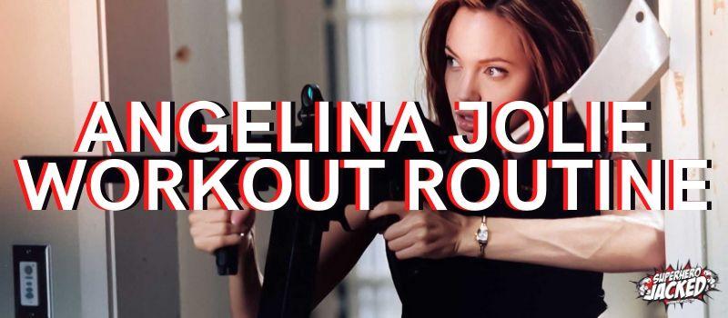 Angelina Jolie Workout