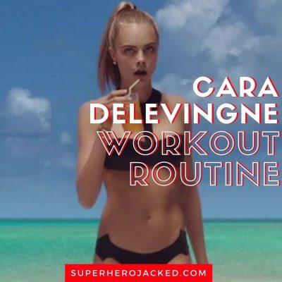 Cara Delevingne Workout