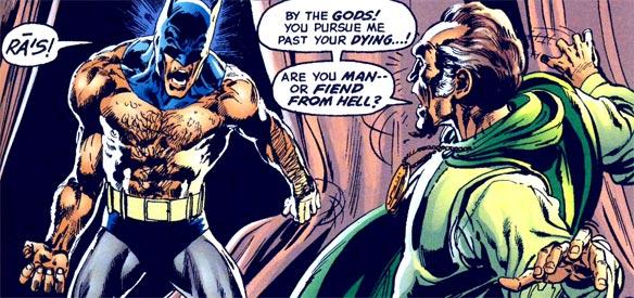 batman shirtless