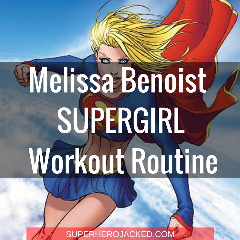Melissa Benoist Supergirl Workout