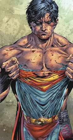 superman shirtless