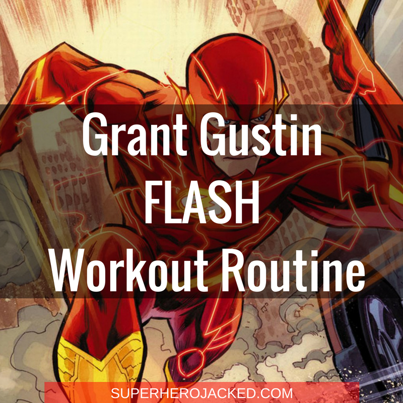 The Flash Grant Gustin Workout
