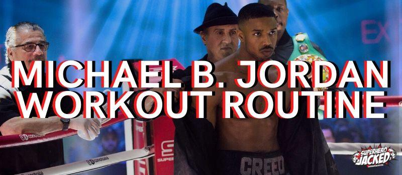 Michael B. Jordan Creed Workout