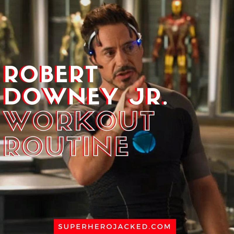 Robert Downey Jr. Workout