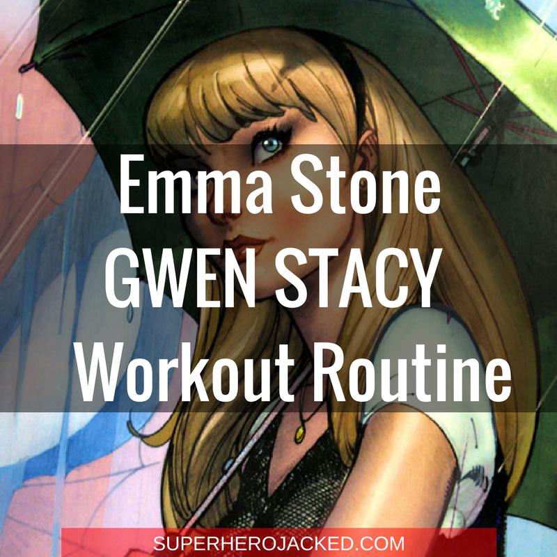 Gwen Stacy Emma Stone Workout