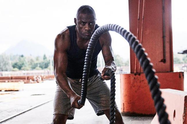 Idris Elba Workout 4