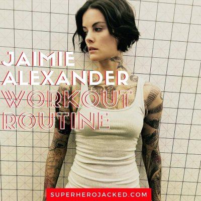 Jaimie Alexander Workout