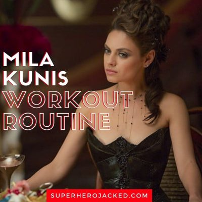 Mila Kunis Workout
