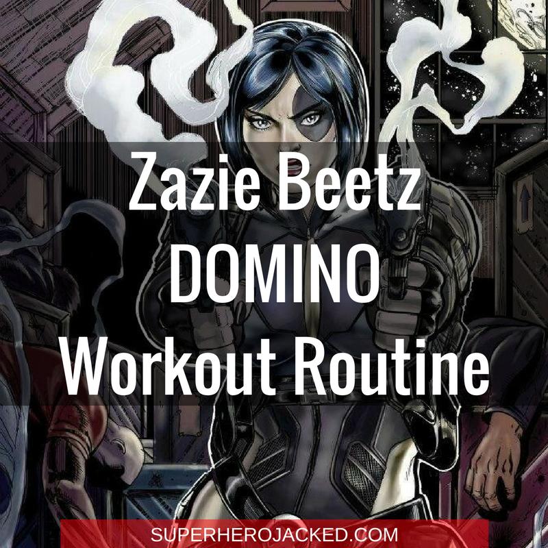 Zazie Beetz Domino Workout Routine