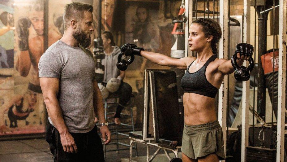 Alicia Vikander Workout 2