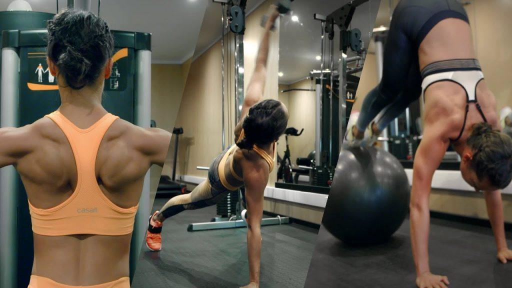 Alicia Vikander Workout 3