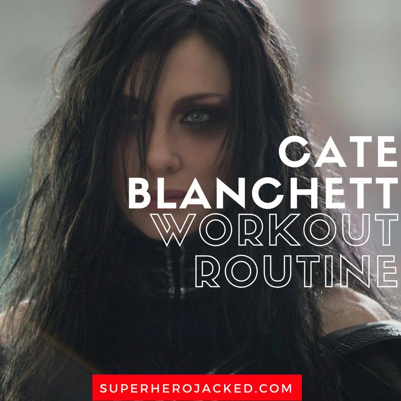 Cate Blanchett Workout Routine 1