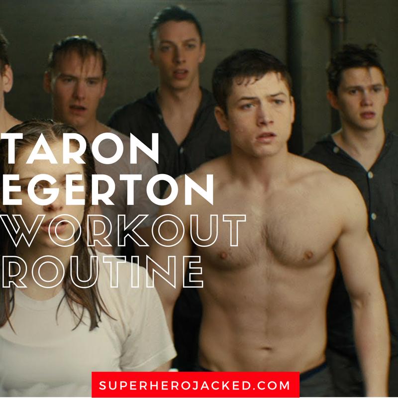 Taron Egerton Workout Routine