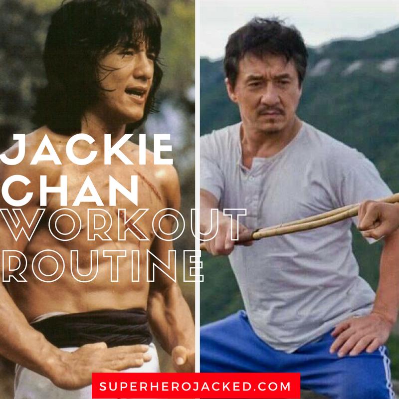 Jackie Chan Workout Routine