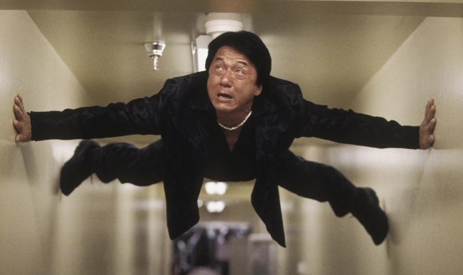 Jackie Chan Workout Rush Hour