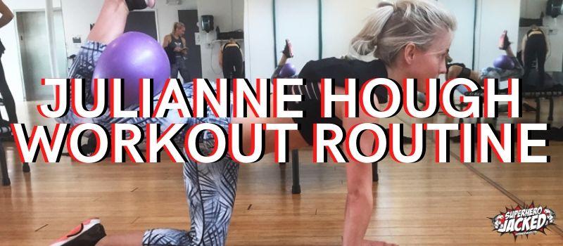 Julianne Hough Workout Routine