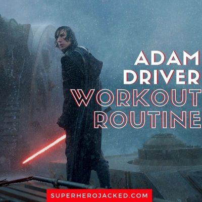 Adam Driver Workout