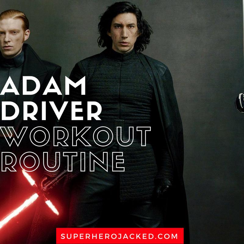 Adam Driver Workout Routine 2