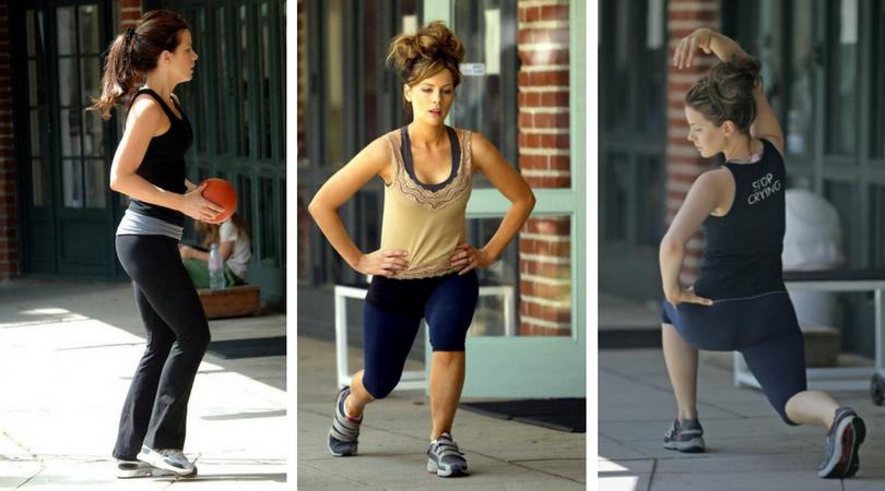 Kate Beckinsale Workout