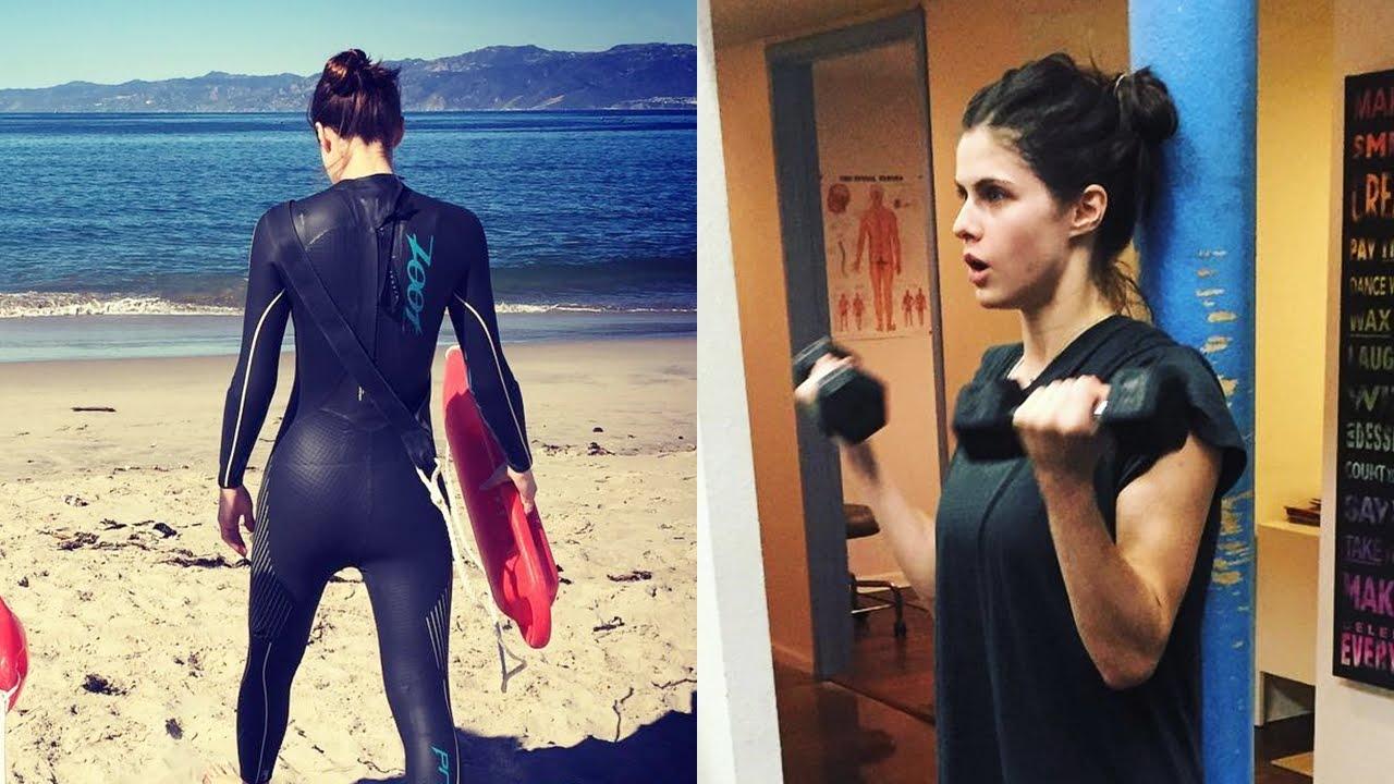 Alexandra Daddario Workout