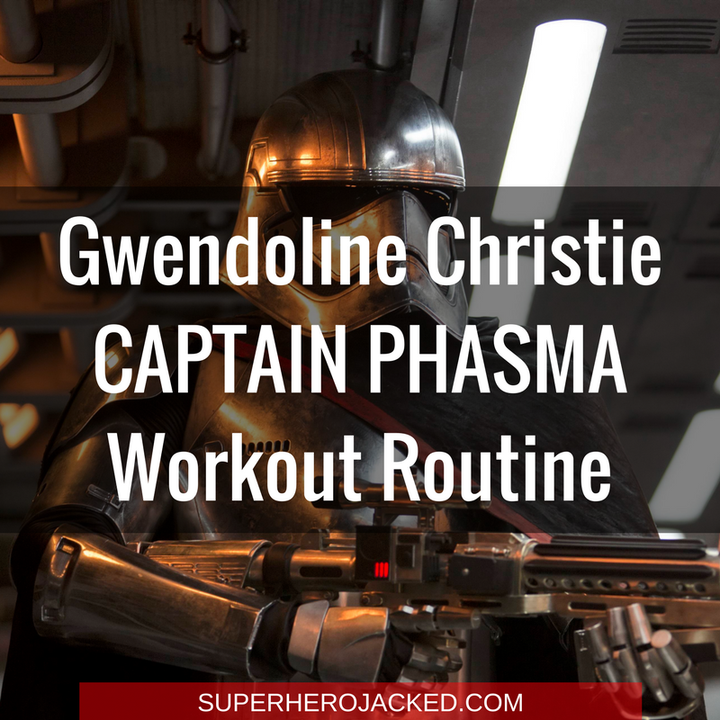 Gwendoline Christie Captain Phasma Workout Routine