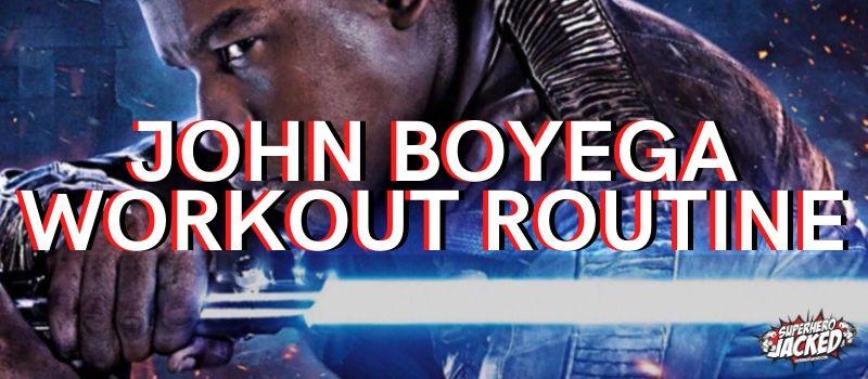 John Boyega Workout Routine