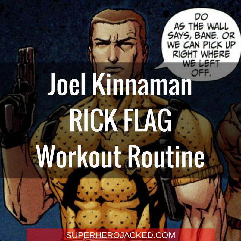 Joel Kinnaman Rick Flag Workout Routine