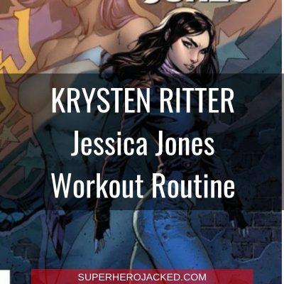 Krysten Ritter Jessica Jones Workout