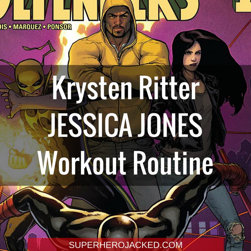 Krysten Ritter Jessica Jones Workout Routine