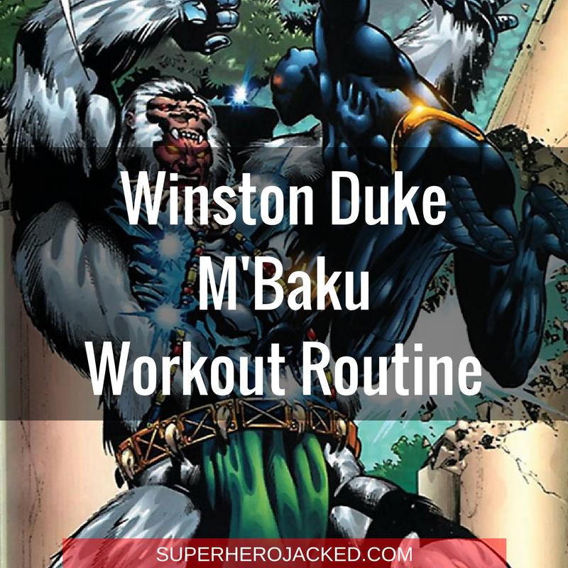 Winston Duke M'Baku Workout Routine