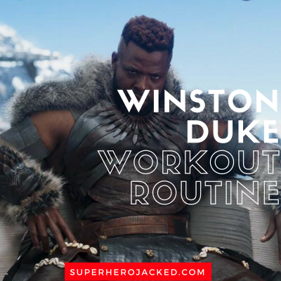 Winston Duke Workout Routine