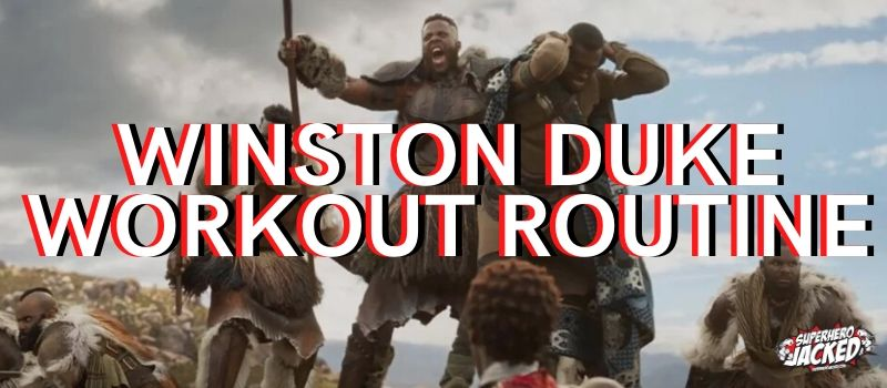 Winston Duke Workout