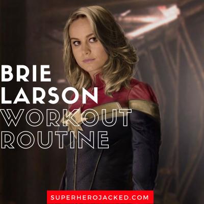 Brie Larson Workout Routine