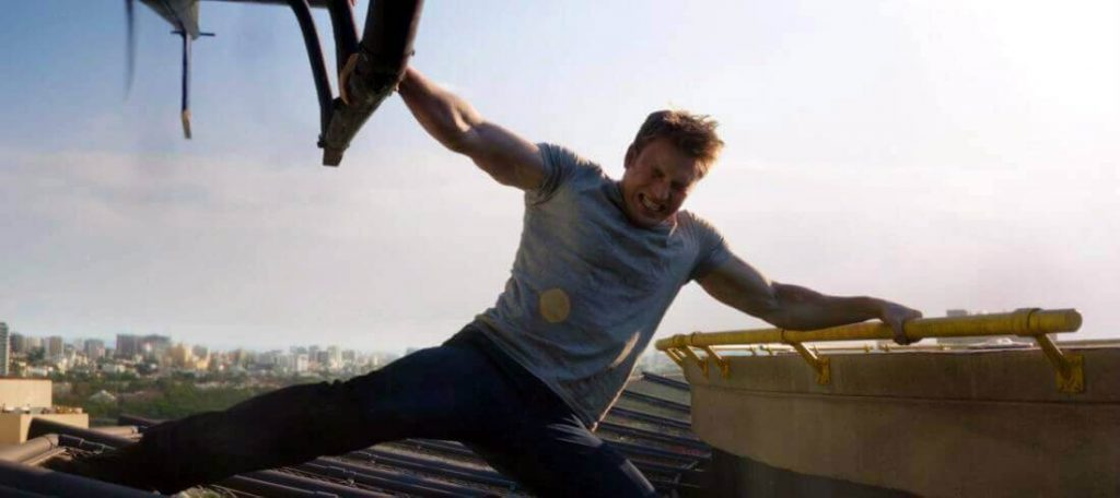 Captain America Pull Up Workout